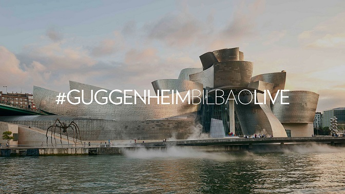#GuggenheimBilbaoLive: el Museo nos muestra su lado desconocido