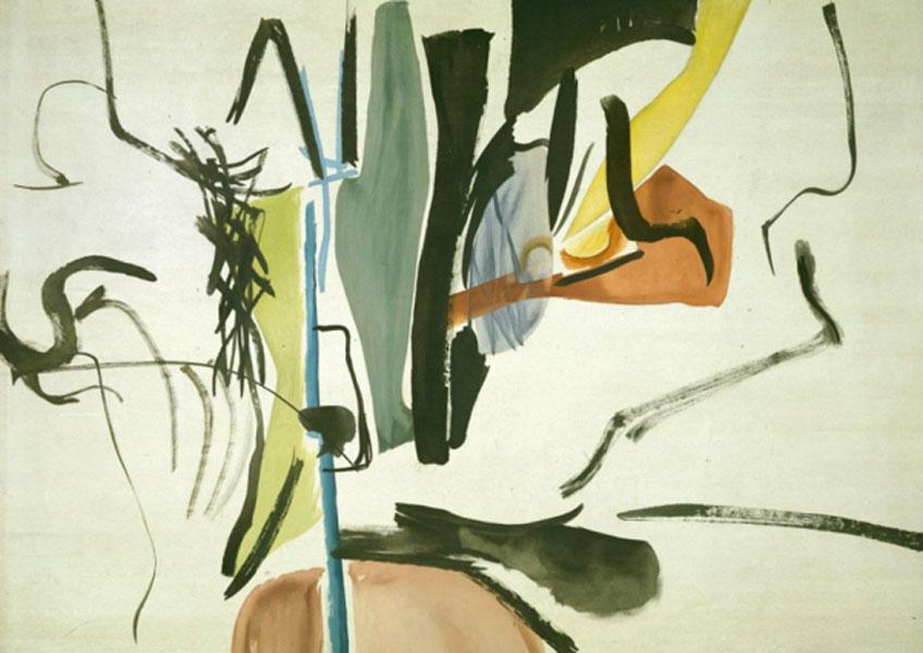 Hans Hartung. Sin título, 1935. Fondation Hartung-Bergman, Antibes