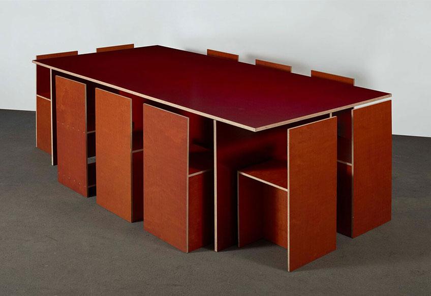 Donald Judd. Untitled, 1993. Cortesía del artista y del Centro de Artes Visuales Fundación Helga de Alvear Cáceres
