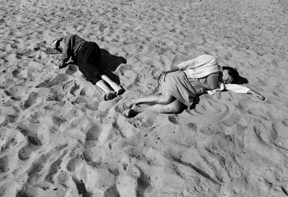 Anthony Hernández. Santa Monica #14, 1970. Black Dog Collection, donación prometida al San Francisco Museum of Modern Art © Anthony Hernandez