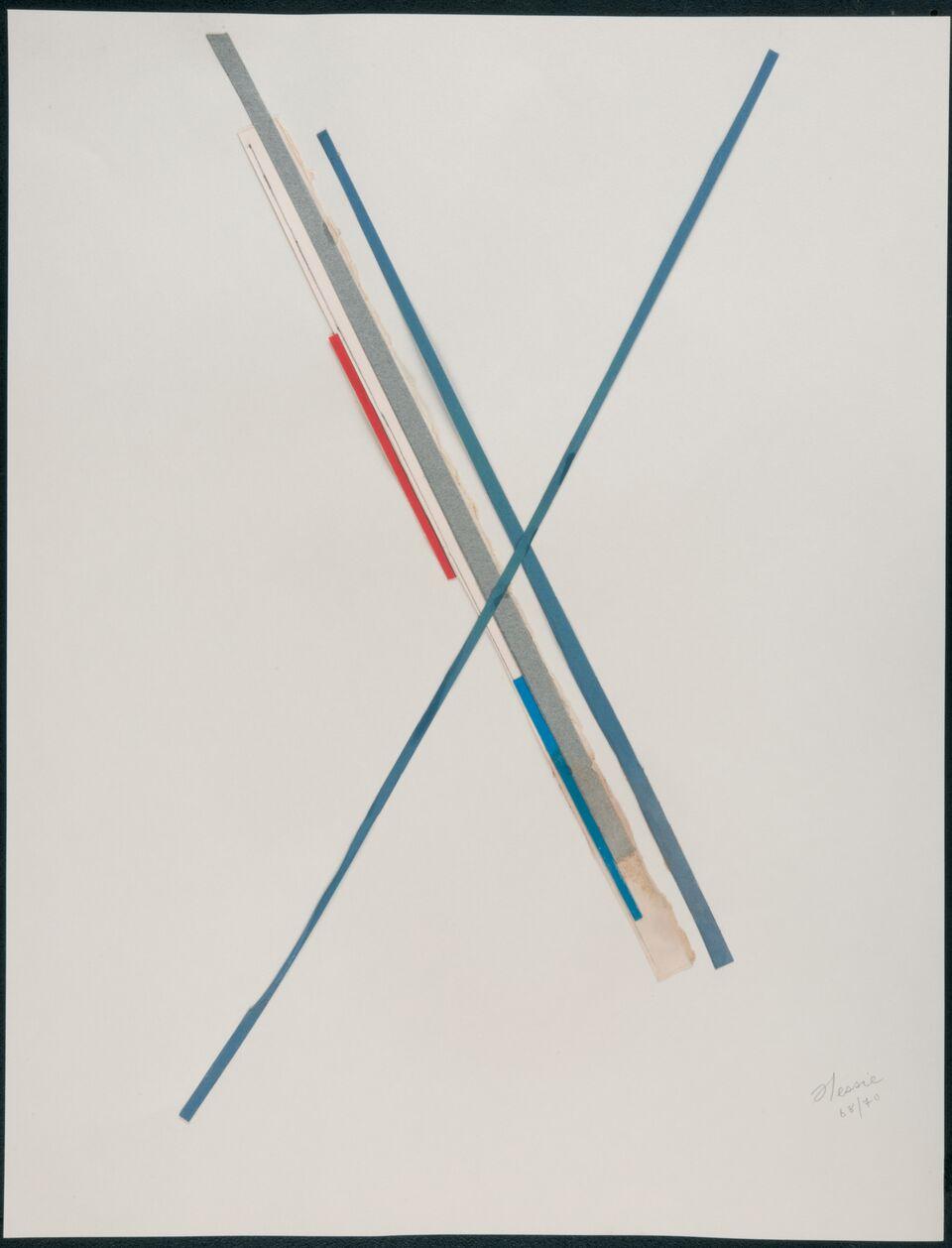 Hessie. Sin título, 1968-1970. Cortesía de la Galerie Arnold Lefebvre