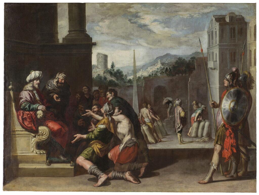 Antonio del Castillo. José ordena la prisión de Simeón, hacia 1650. Museo Nacional del Prado