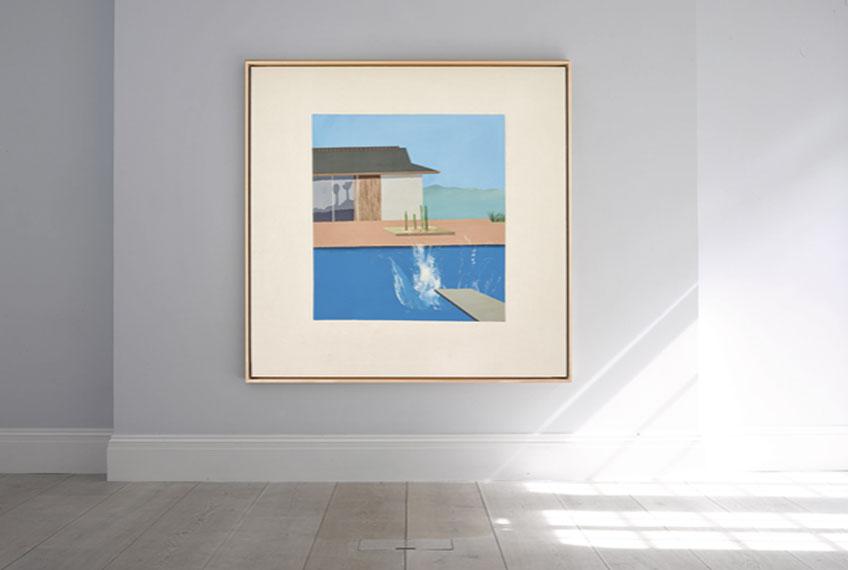 David Hockney. The Splash, 1966