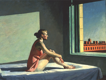 Edward Hopper. Sol de la mañana, 1952. Columbus Museum of Art