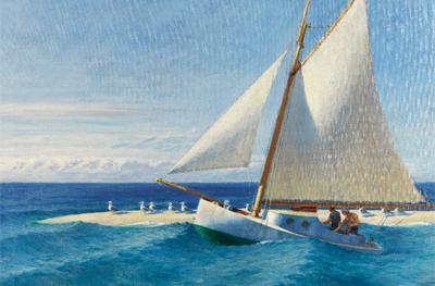 Edward Hopper. El Marthe McKeen de Wellfleet, 1944. Colección Carmen Thyssen-Bornemisza en depósito en el Museo Thyssen-Bornemisza