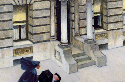 Edward Hopper. New York Pavements, 1924 o 1925. Chrysler Museum of Art, Norfolk