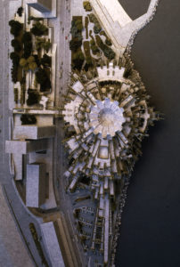 Fernando Higueras. Proyecto para el Edificio Polivalente de Montecarlo, 1969