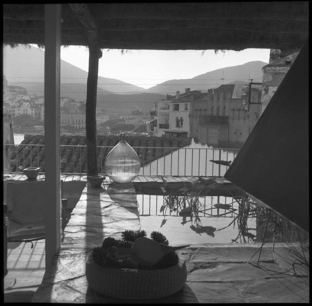 Giorgio Casali. Villa Gloria (Cadaqués, Girona), 1959. © Herederos de Harnden y Bombelli / Fondo Harnden-Bombelli Arquitectos - Arxiu Històric del Col·legi d'Arquitectes de Catalunya. Università Iuav di Venezia - Archivio Progetti, fondo Giorgio Casali