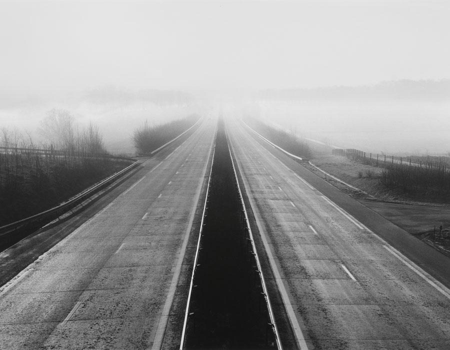 Michel Kempf. Sin título, 1989. Serie Autopista A26 Calais-Reims. CRP Hauts-de-France. © Michel Kempf
