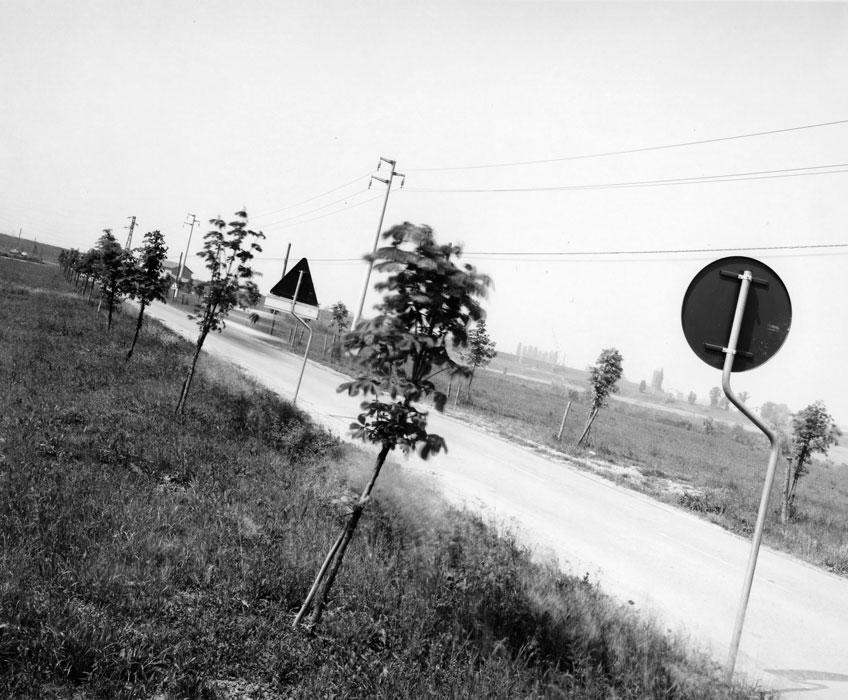 Guido Guidi. Serie Laboratorio di fotografía 1. Rubiera, 1989. © Guido Guidi