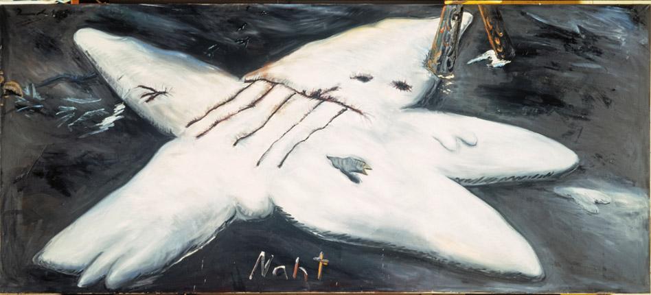 Jörg Immendorff. Naht (Sutura), 1981