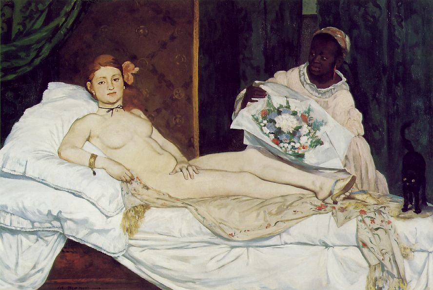 Édouard Manet. Olympia, 1863
