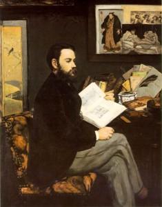 Édouard Manet. Retrato de Zola, 1868