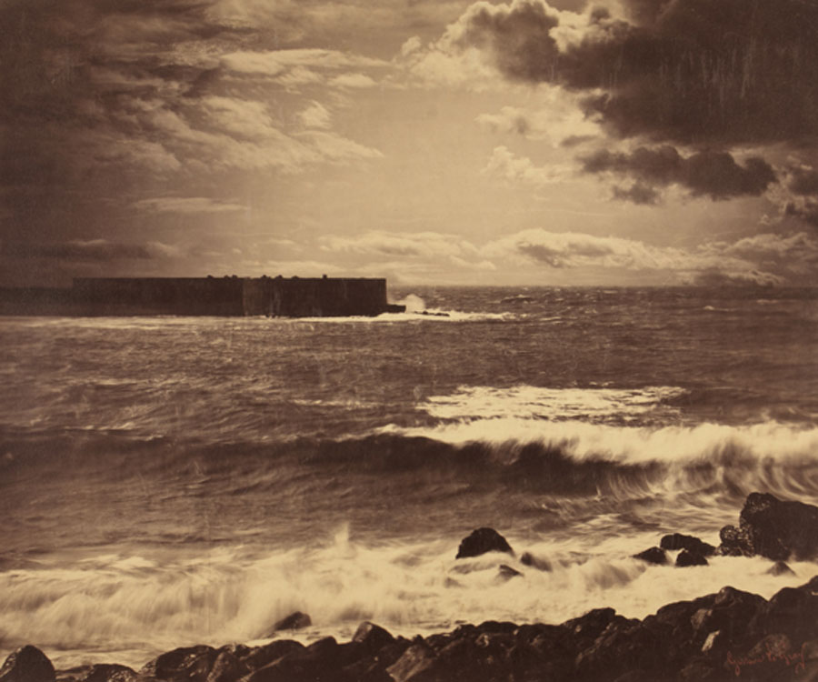 Gustave Le Gray. La gran ola, Sête, hacia 1856-1857. Collection SFP