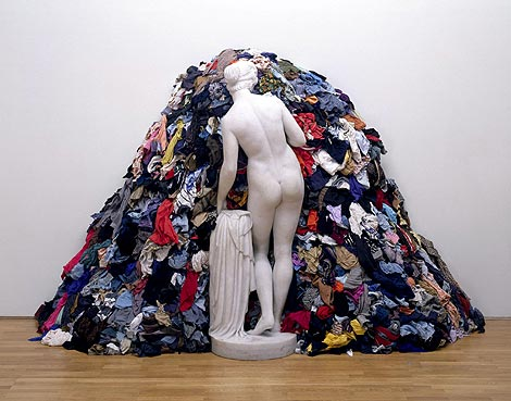 Pistoletto. La Venus de los trapos, 1967. Instalación artística