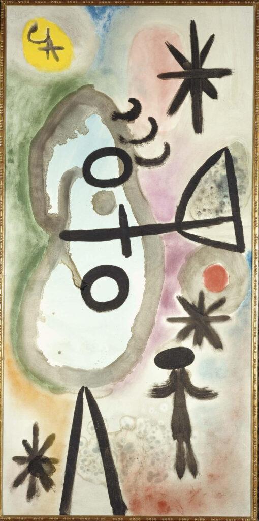 Joan Miró. Pintura, 1949. Museo Reina Sofía en depósito en el MNAC