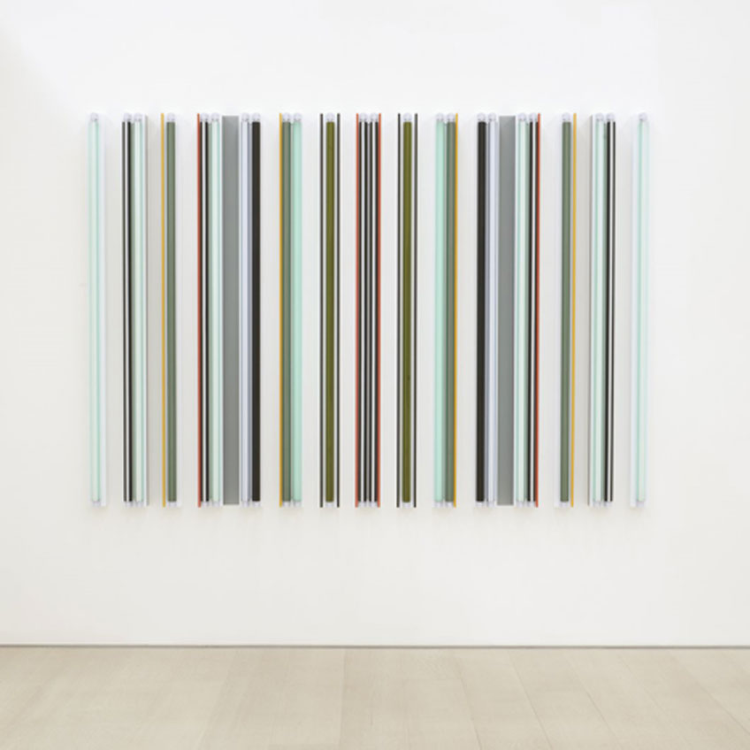 Robert Irwin. Kilts, 2018. © Robert Irwin