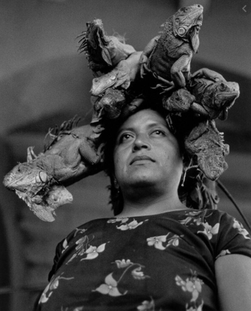 Graciela Iturbide. Nuestra Señora de las Iguanas. Juchitán. México, 1979