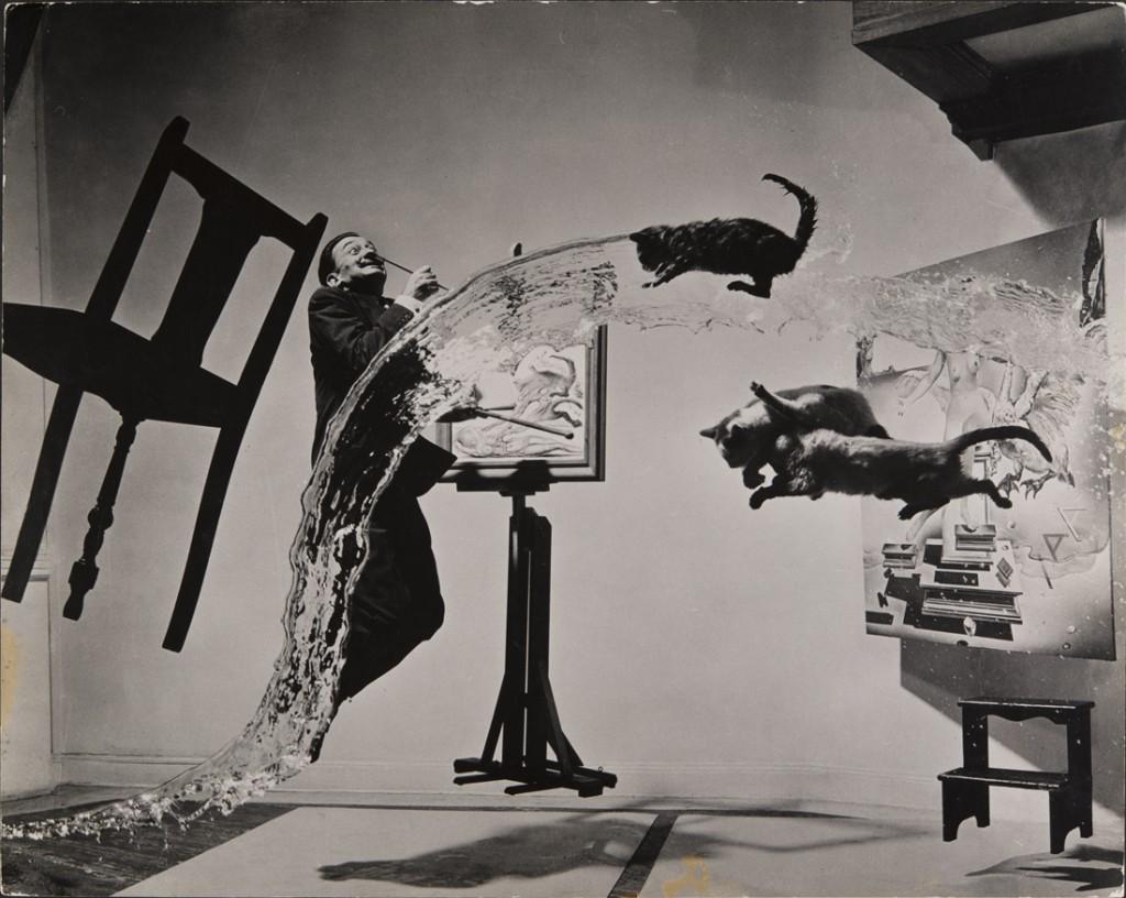 Philippe Halsman. Dalí Atomicus, 1948. Philippe Halsman Archive/ Magnum Photos