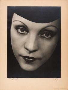 Philippe Halsman. Génica Athanasiou, 1934. Philippe Halsman Archive/ Magnum Photos