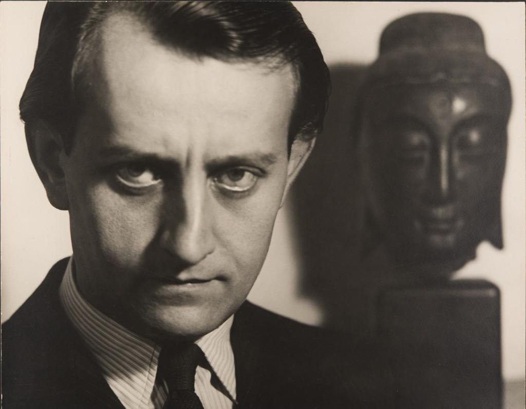 Philippe Halsman. André Malraux, 1934. Philippe Halsman Archive/ Magnum Photos
