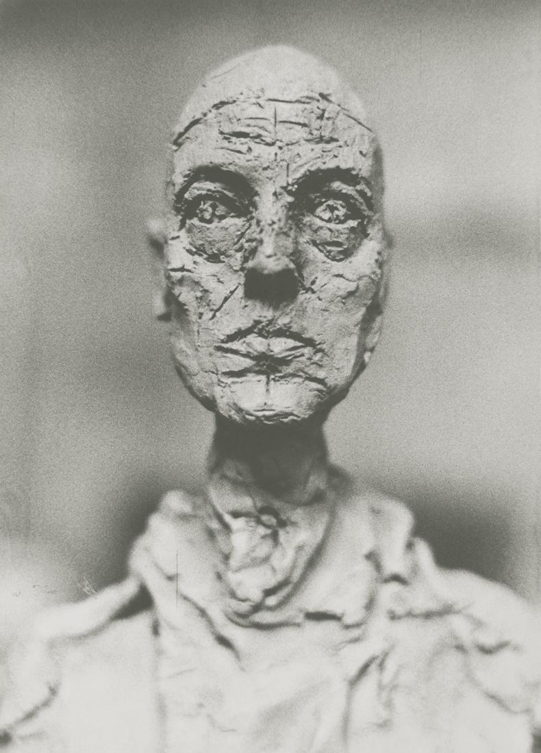 Eli Lotar. Giacometti, buste de Lotar, 1965