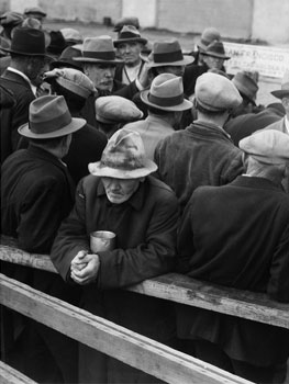 Dorothea Lange. White Angel Breadline, San Francisco, 1933