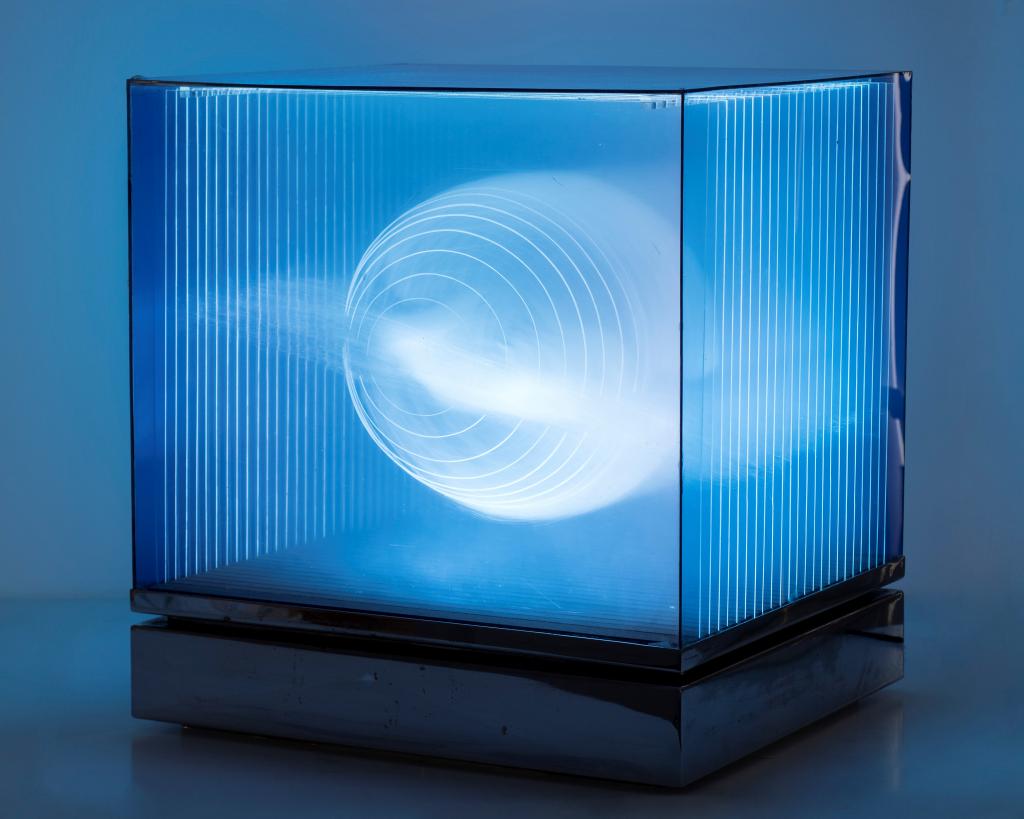 Diego Moya. Caja de luz