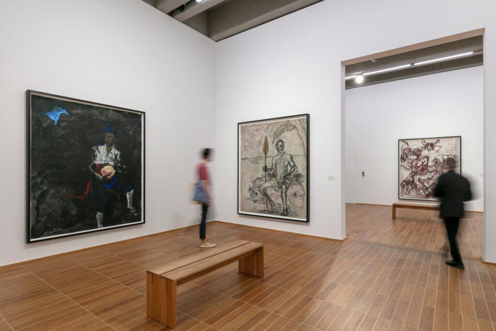 "Kara Walker. ""A BLACK HOLE IS EVERYTHING A STAR LONGS TO BE"". Kunstmuseum Basel"