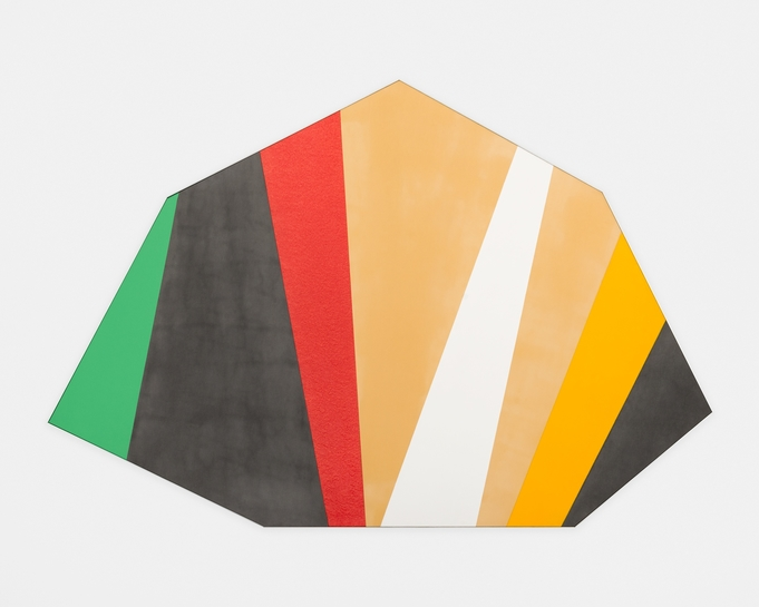 Kenneth Noland. Half Day, 1976