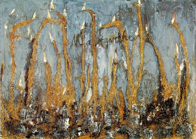 Anselm Kiefer. Margarete, 1981