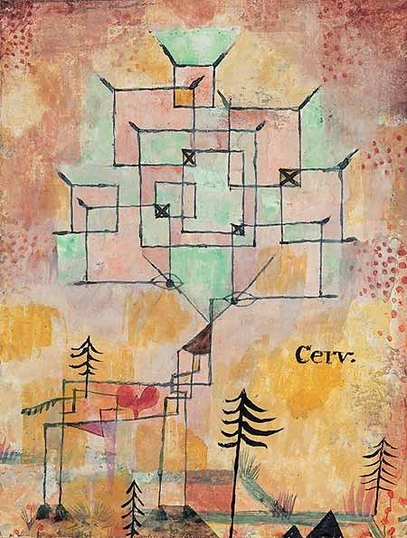 Paul Klee. Der Hirsch, 1919