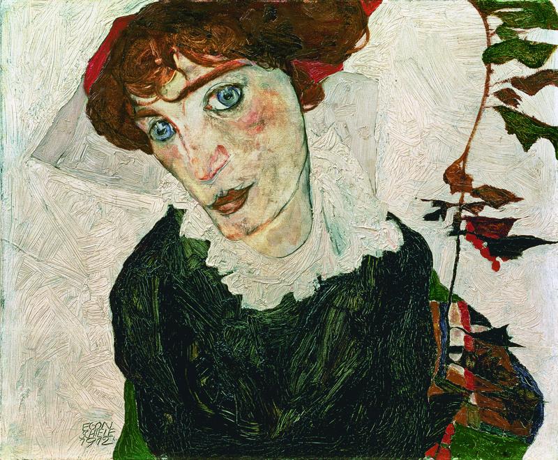 Egon Schiele. Retrato de Wally Neuzil, 1912. Leopold Museum, Viena