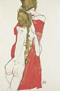 Egon Schiele. Madre e hija, 1913. Leopold Museum, Viena