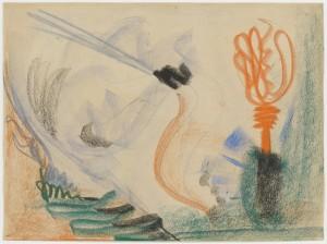 Barnett Newman. Untitled , 1944. Kunstmuseum Basel, Martin P. Bühler