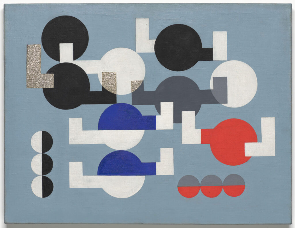 Sophie Taueber-Arp. Composition, 1930. The Museum of Modern Art, New York, The Riklis Collection of McCrory Corporation