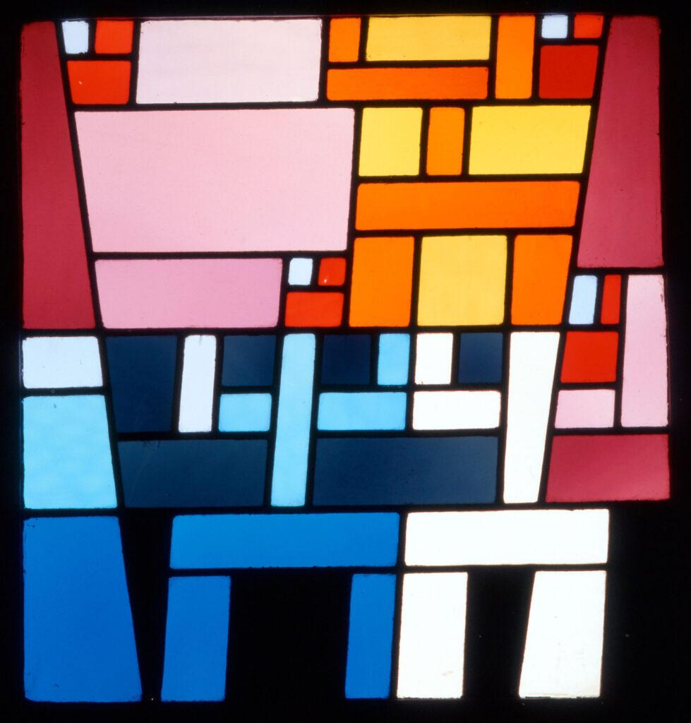 Sophie Taueber-Arp. Nichtaxiale abstrakte Komposition, 1928. Kunstmuseum Basel- Musée d'Art Moderne et Contemporain de Strasbourg