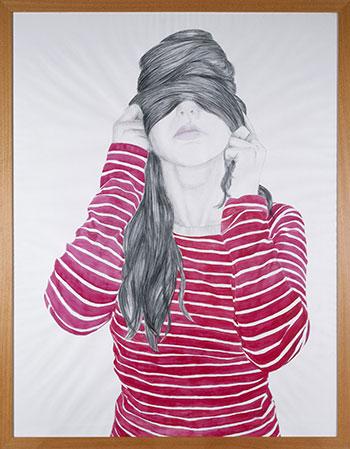 Cristina Lucas. Sin título. Serie: Nunca verás mi rostro, 2005. Colección de la Fundación Coca-Cola