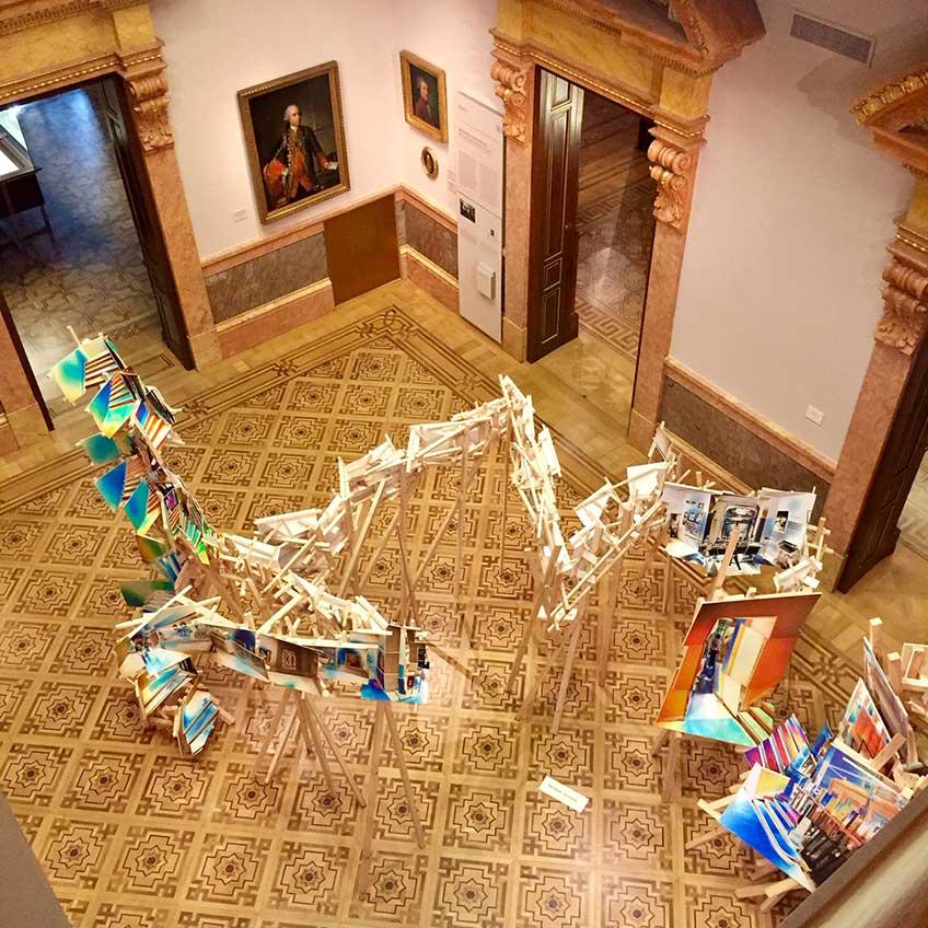 Isidro Blasco. Espacio emergente en el Museo Lázaro Galdiano