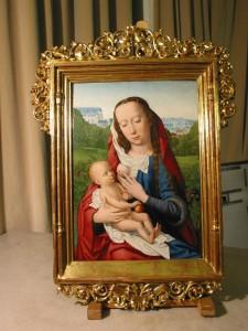 Gerard David. Virgen con el Niño. Museo Lázaro Galdiano