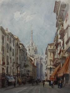 Eugenio Lucas  Velázquez. Corso  Francesco, Milán, 1868. ©Museo Lázaro Galdiano