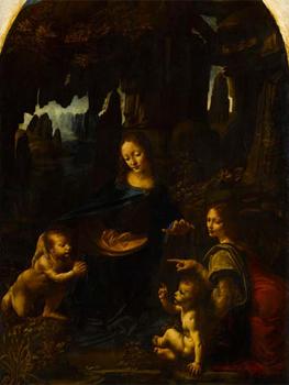 Las Dos Versiones De La Virgen De Las Rocas De Leonardo Se Expondran