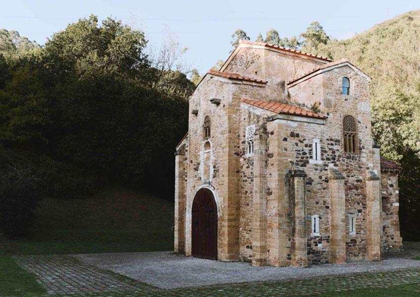 San Miguel de Lillo, siglo XI. Asturias
