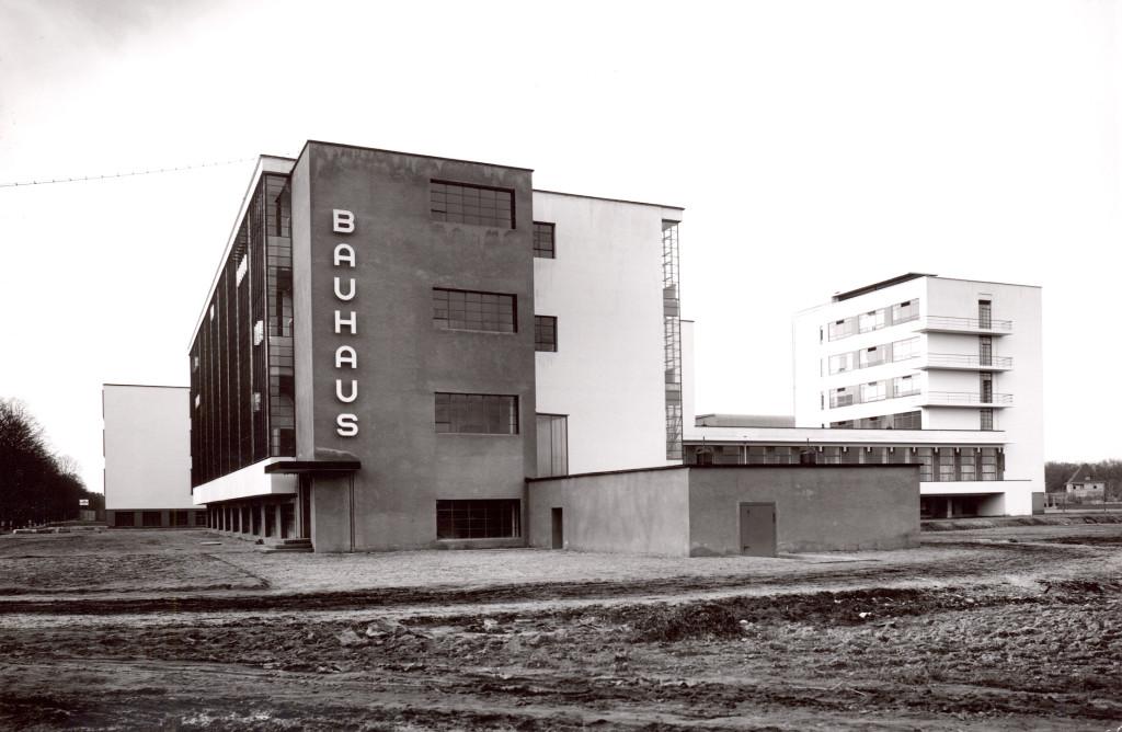 Lucía Moholy. Bauhaus Dessau, 1926. The Bauhaus-Archive