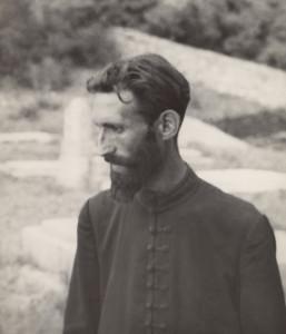 Lucia Moholy.  Orthodox Monk, Monastery of Praskvica, Yugoslavia, 1930