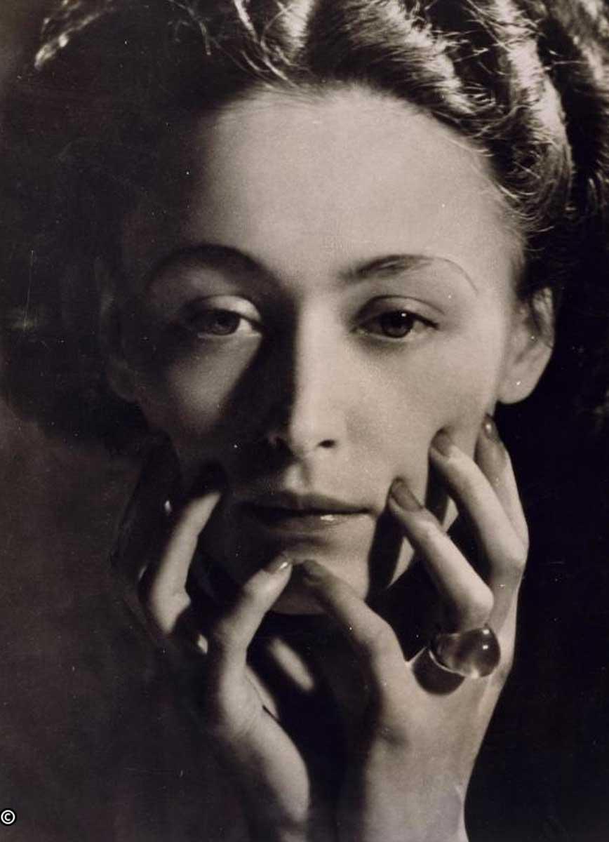 Dora Maar. Nusch Eluard, hacia 1935. Centre Pompidou