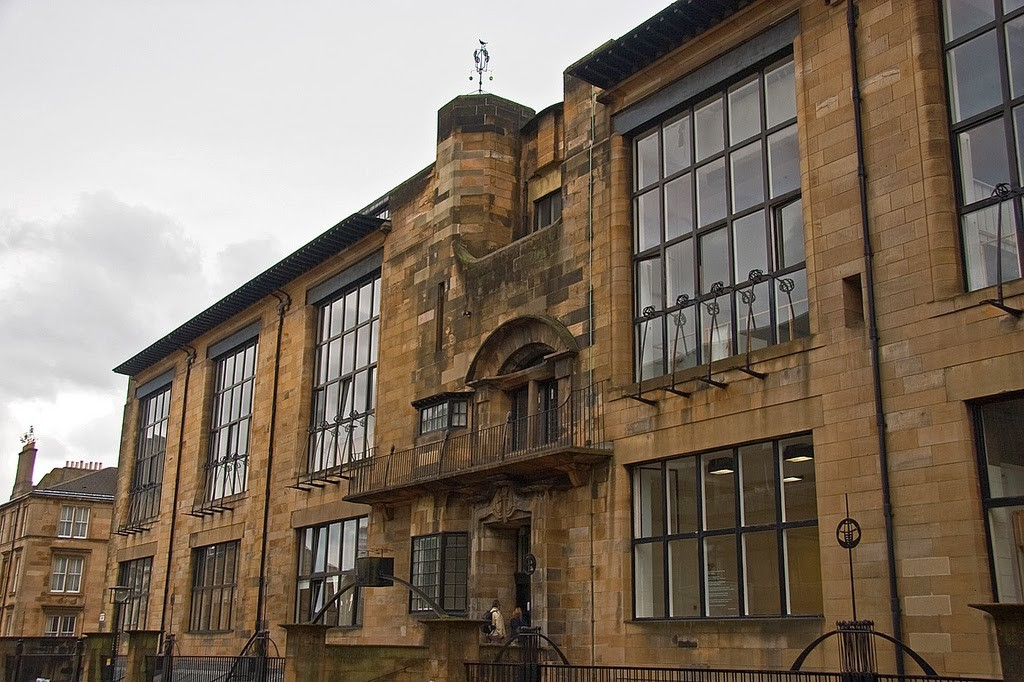 Mackintosh. Glasgow School of Art, 1896-1909
