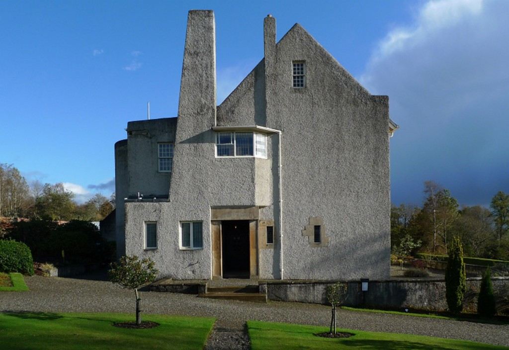 Mackintosh. Windyhill Cottage, 1900-1901