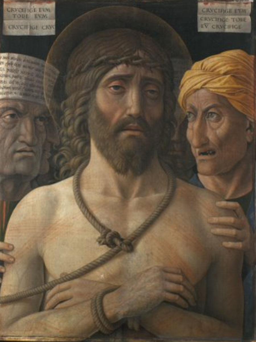 Andrea Mantegna. Ecce Homo. Musée Jacquemart-André, París