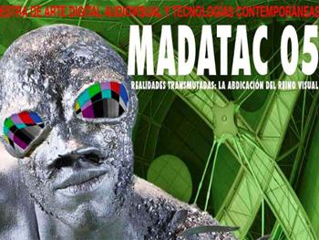 Cartel anunciador de MADATAC 05